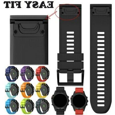 Quick Install Watch Band Easy Fit Wrist Strap Link For Garmi