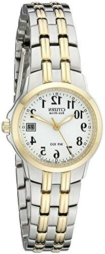 Citizen Women's Eco-Drive Watch with Date, EW1544-53A
