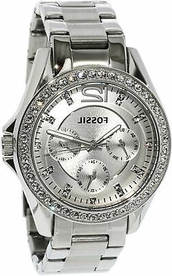 Fossil Women's ES3202 Riley Multifunction Stainless Steel Wa