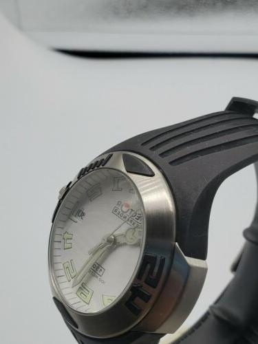 Sector Expander 40mn White Dial Watch