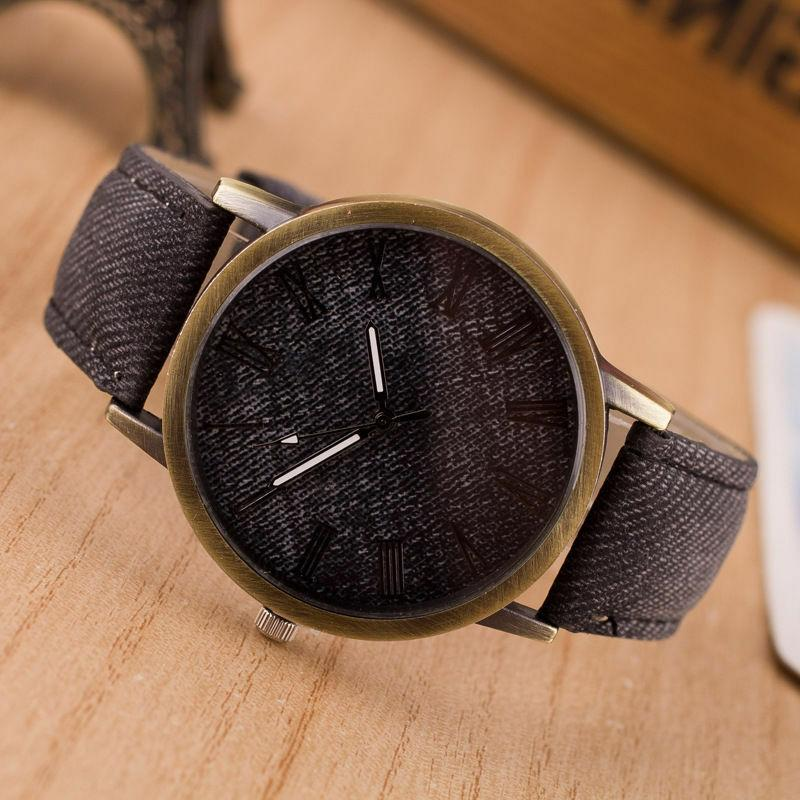 Fashion Women Men Analog Quartz
