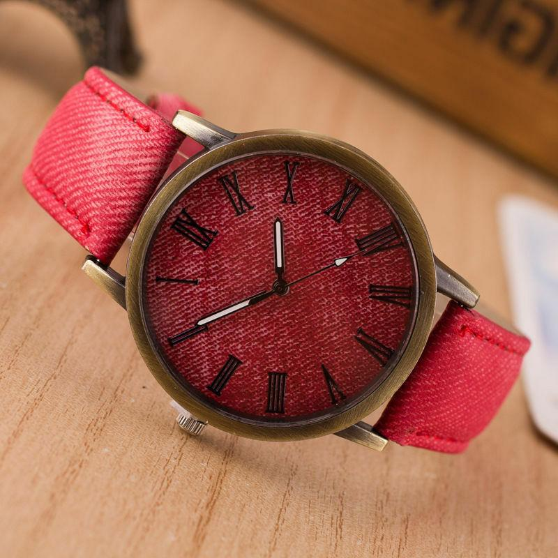 Fashion Watch Leather Analog