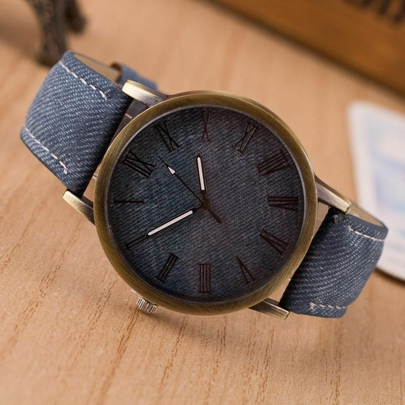 Fashion Women Watch Leather Band Analog Quartz Watches