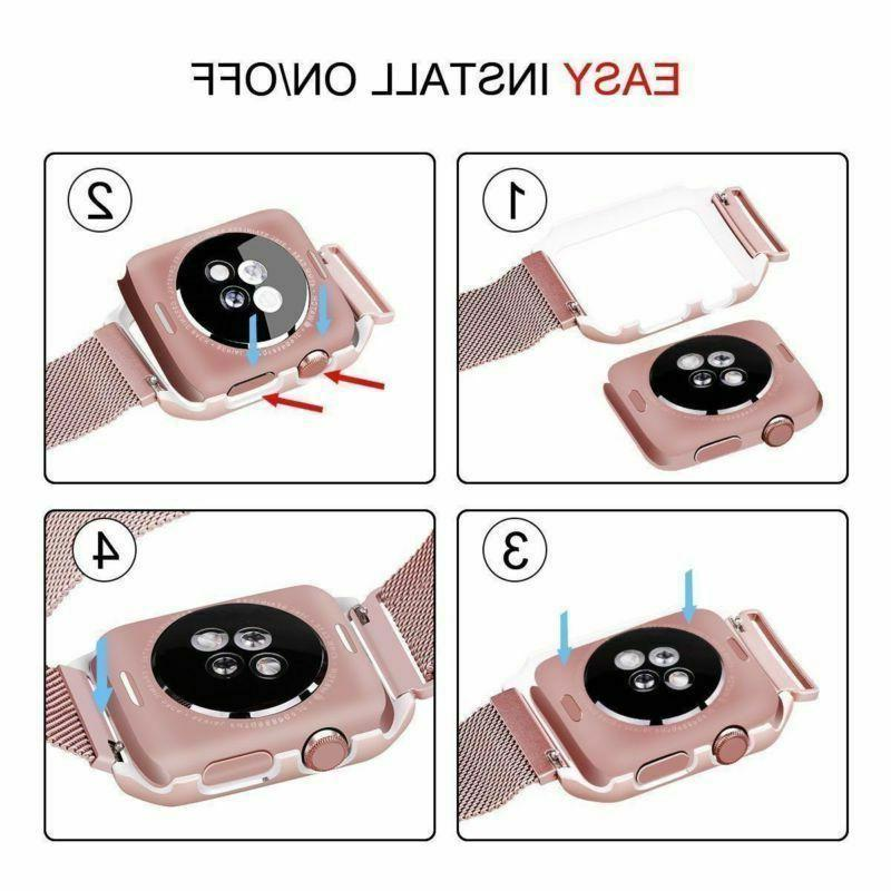 For iWatch Watch Band 5 4 Women Men Strap Wristband