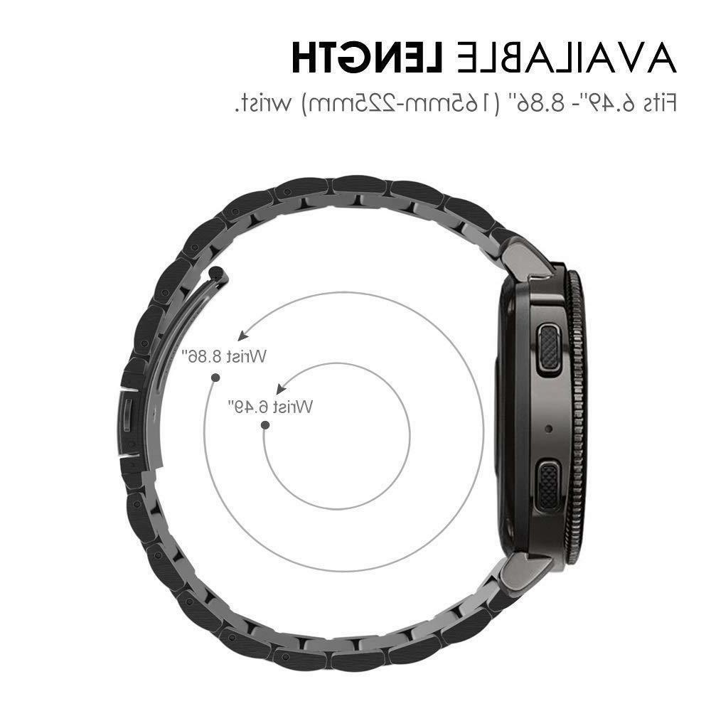 For Galaxy 42mm Active Stainless Steel Strap