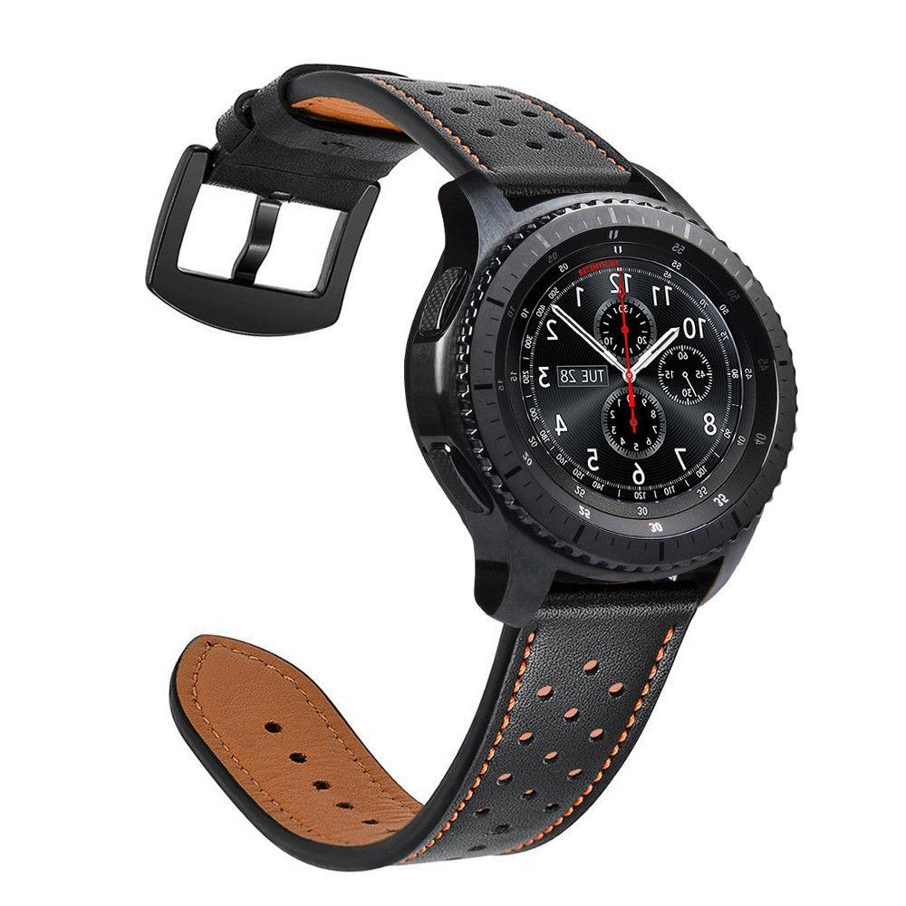 For Samsung Galaxy 46mm / Watch Leather