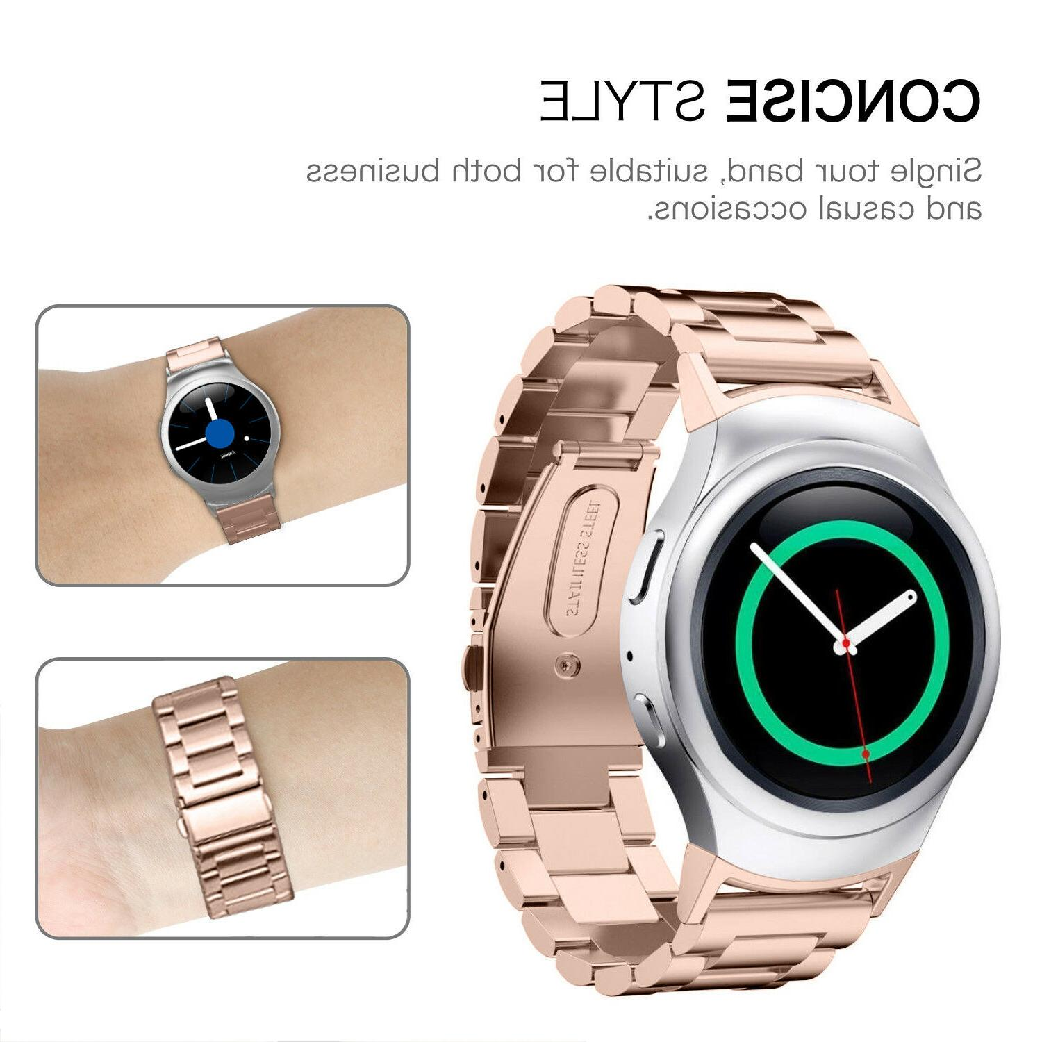 For Gear S2 Band S2 SM-R720/R730 Steel Bands