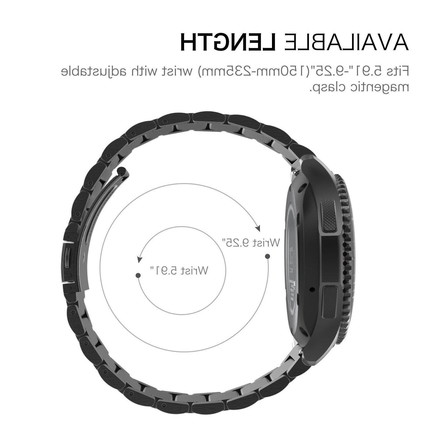 Samsung Gear / S3 Band Stainless Bracelet Strap