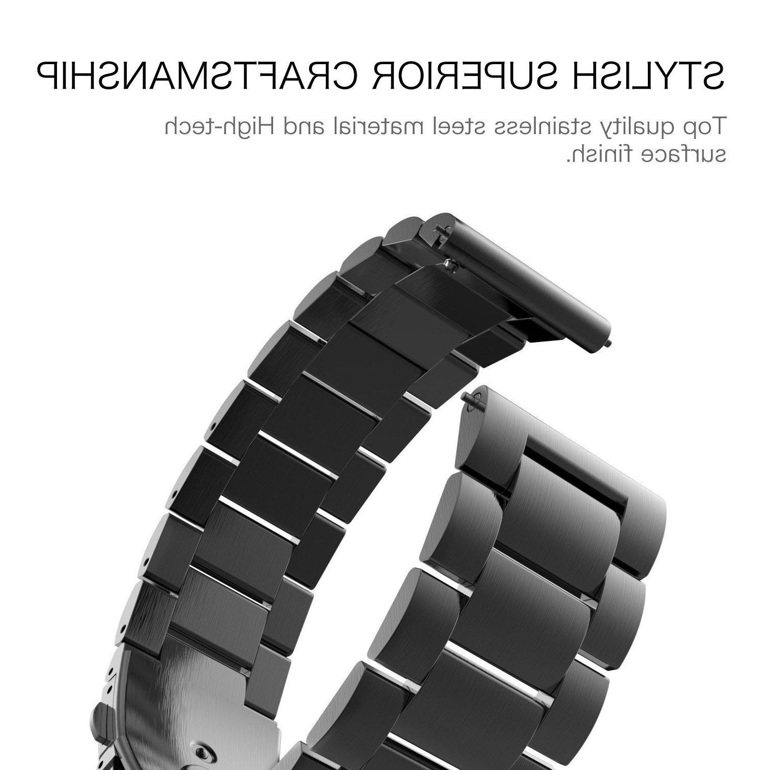 Samsung Frontier Band Stainless Steel Strap