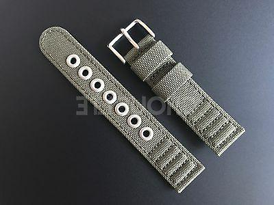 Genuine Citizen Eco-Drive H500-S026989 Green Canvas Watch Band