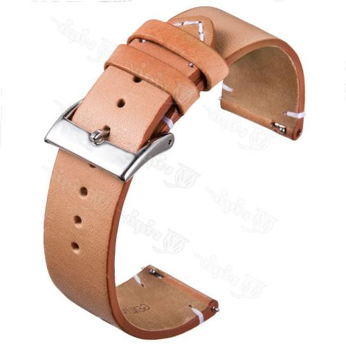 Genuine Leather 18 22mm Wrist Strap For Quick Release Pins