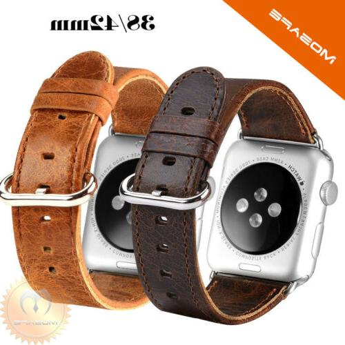 genuine leather watch strap watch band