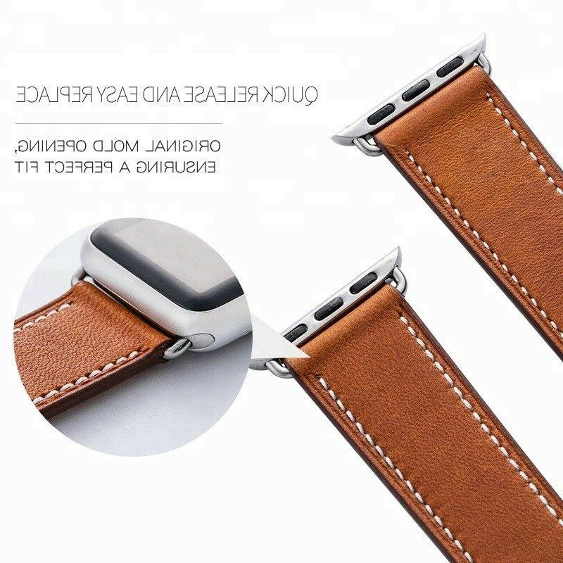Genuine Leather Wrist For Band 42mm 4 2