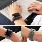 42mm Gray Iwatch Wrist Bracelet Strap Leather Band for Apple