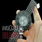Iced Out All Black Sensuous Rapper Style Lab Diamond Watch C
