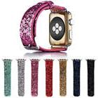 For iWatch 38mm / 42mm Apple Watch Cute Glitter Bling New Wr