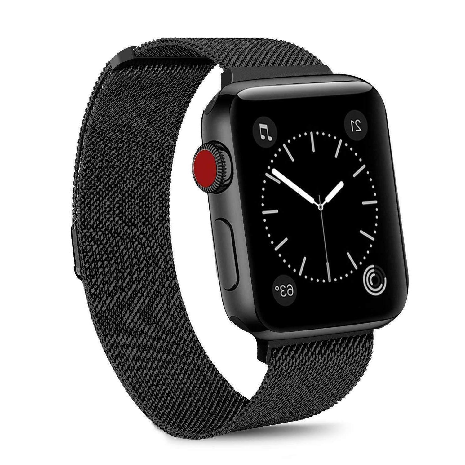 For Apple Watch Band 42mm 38mm 44mm 40mm Series Steel