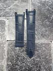 Leather Strap Blue Watch Band Deployment Buckle CARTIER PASH