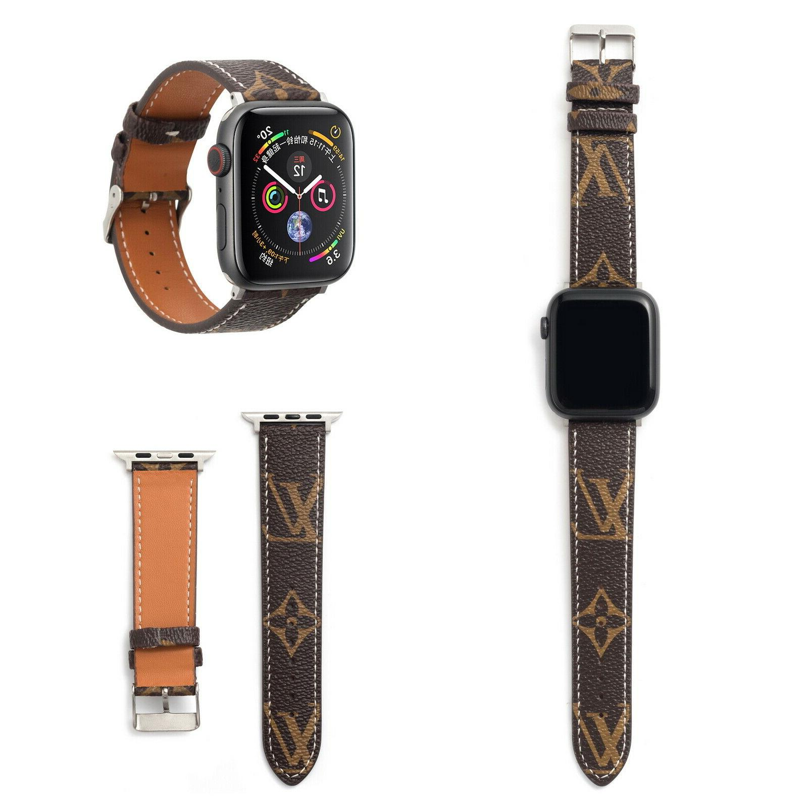 Luxury Strap Leather For Apple 4 3