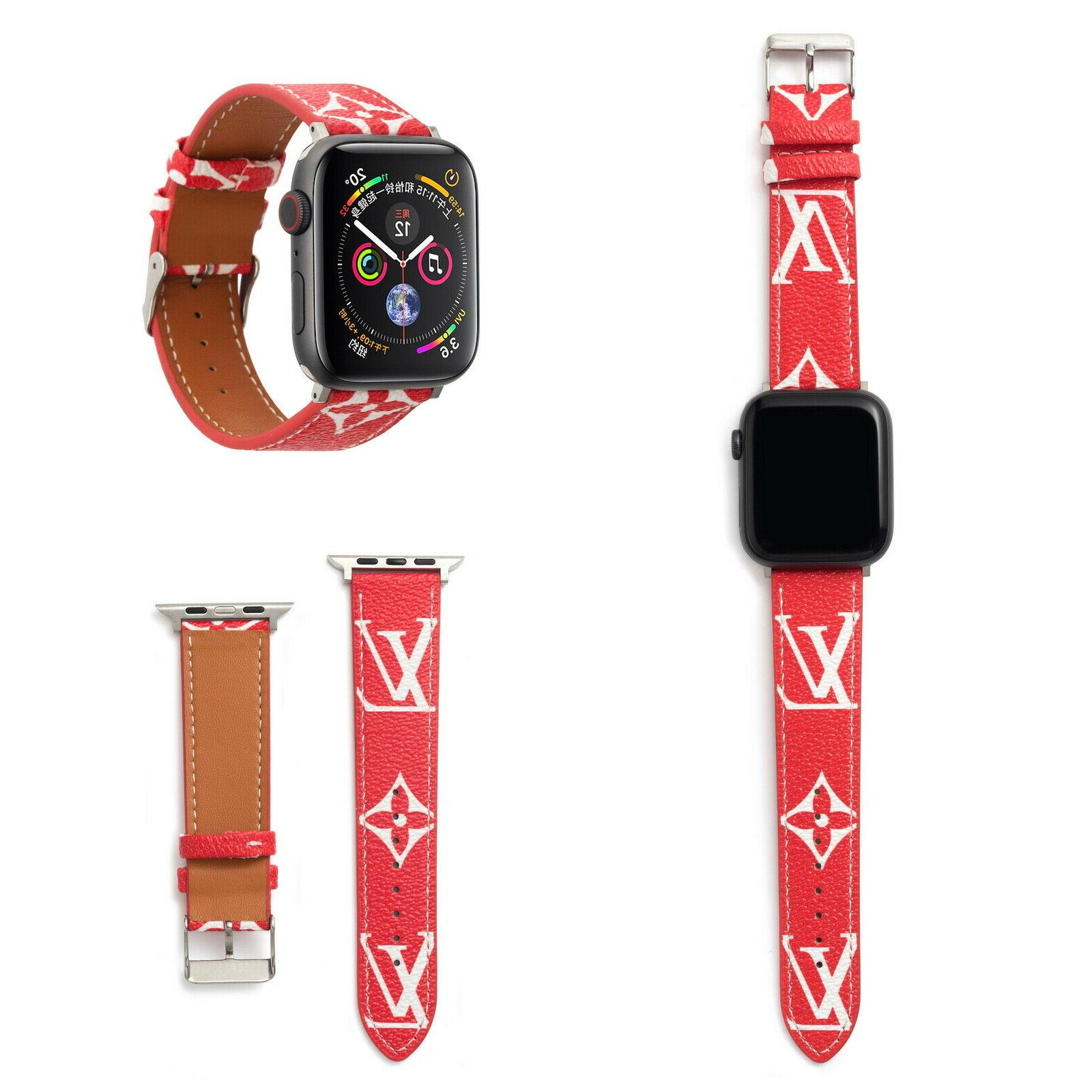 Luxury New Strap Leather For Apple Watch 4 2