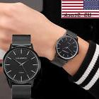 ^Men's New Luxury Casual Watch Sport Quartz Analog Stainless