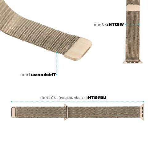 Milanese Loop Band For Series 38mm 40mm Magnetic