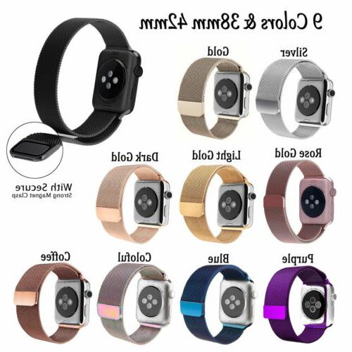 Milanese Band Series 1-5 38mm Magnetic