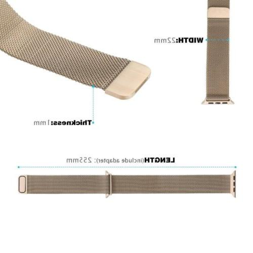 Magnetic Milanese iWatch Strap for Watch Sport 3