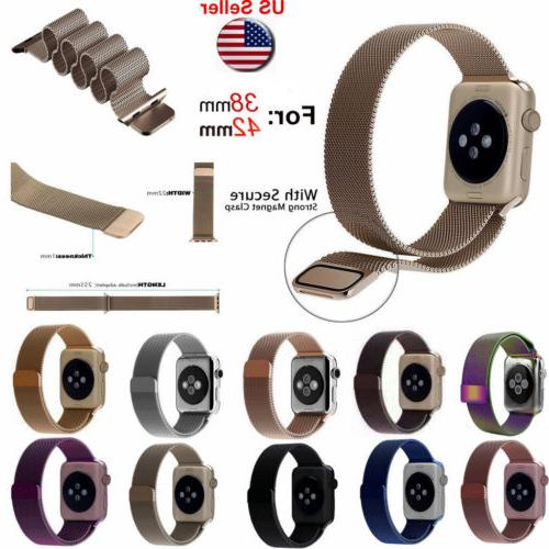 Magnetic Milanese Band iWatch for Watch Sport 3