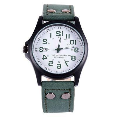 Men Sport Military Wrist Stainless