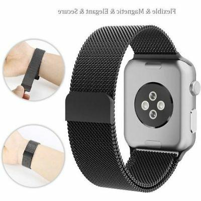 Milanese Apple Band 38mm 40mm Magnetic
