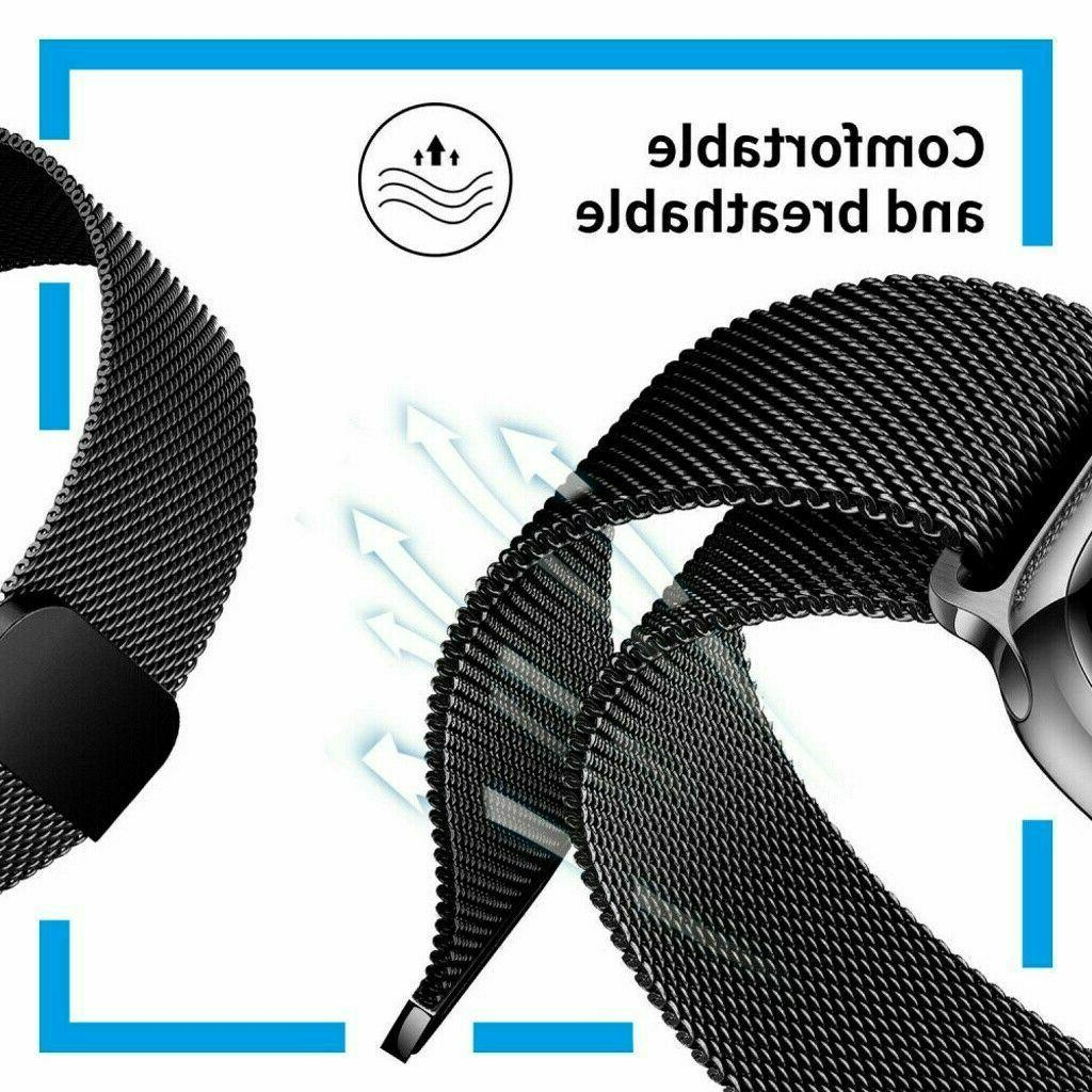 Milanese Apple Watch Band For Series 1-5 38mm 42mm Magnetic