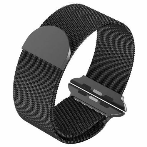 Milanese Stainless Band For Apple Series