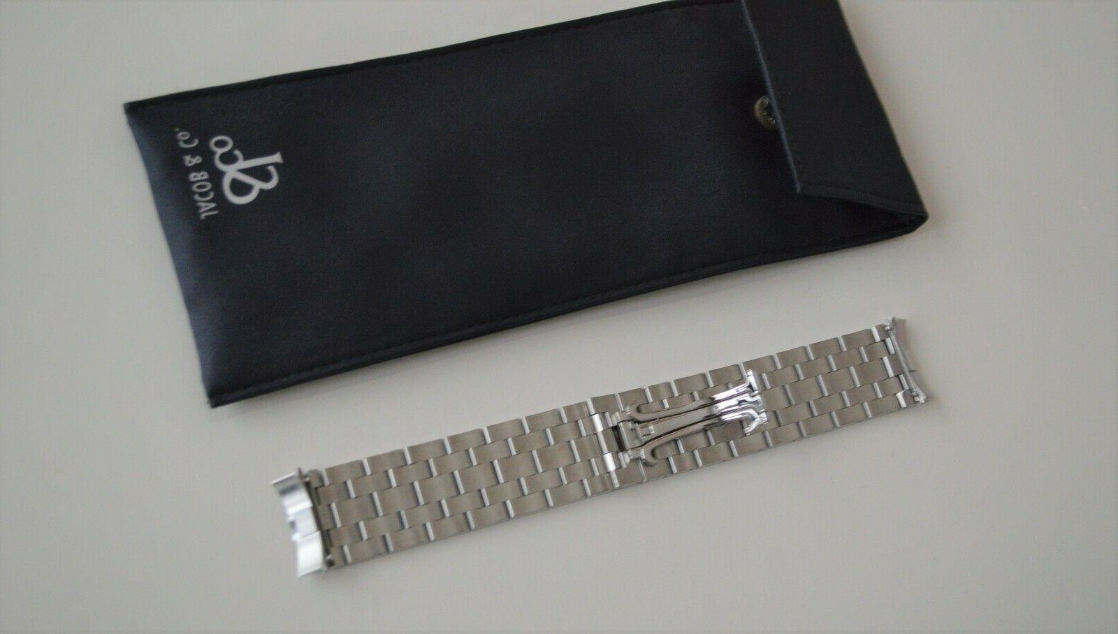NEW Jacob Stainless Steel Watch Band