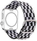 Nylon Band For Apple Watch 38MM, Bandmax Fancy Football Styl