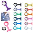 New Pin Up Silicone Nurse Watch FOB Brooch Tunic Medical Nur
