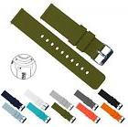 BARTON Quick Release Watch Band Strap Width 22mm Army Green