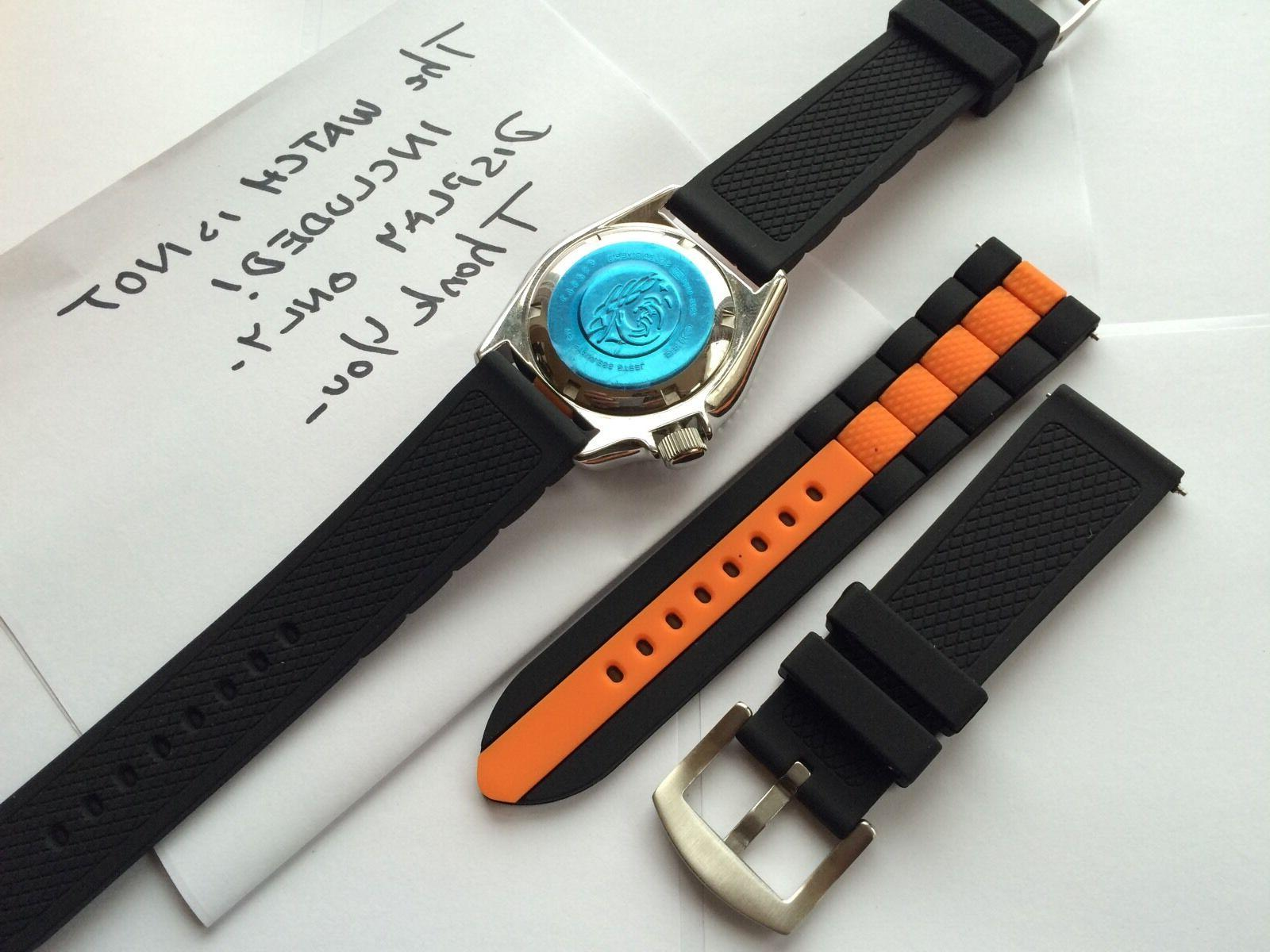 Silicone Rubber Watch Band Strap