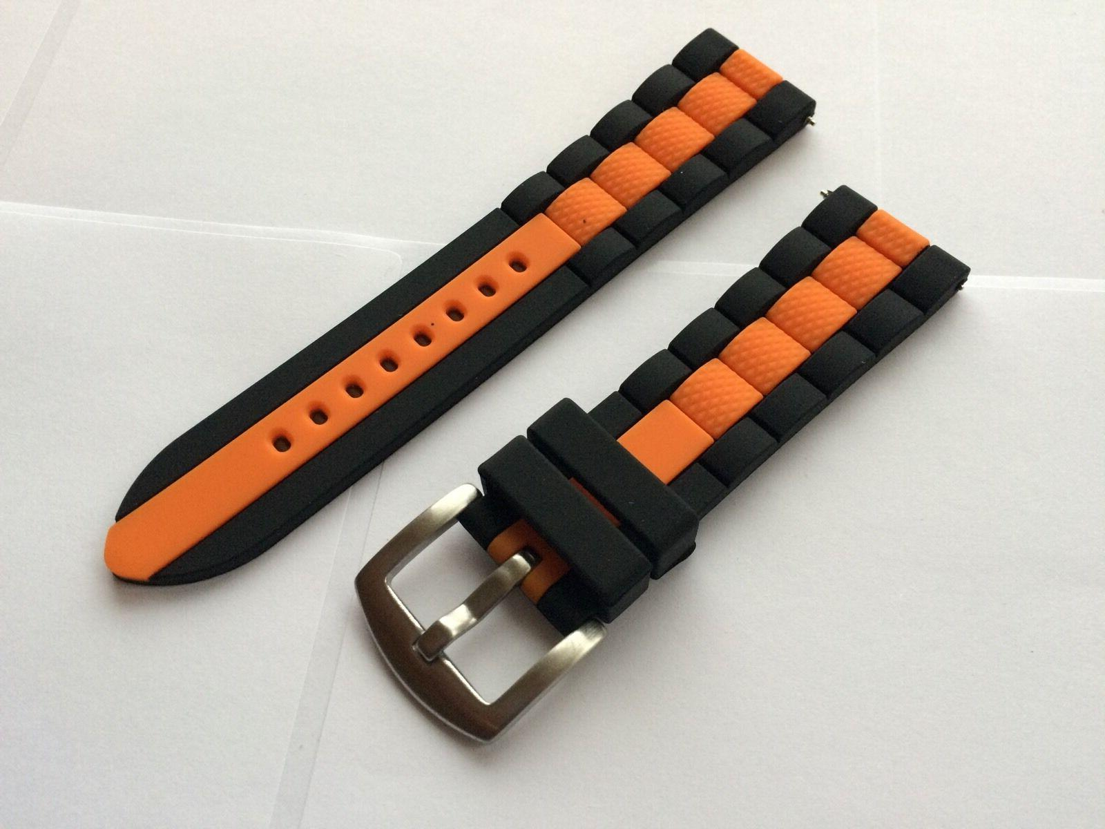 22mm Silicone DIVER Band