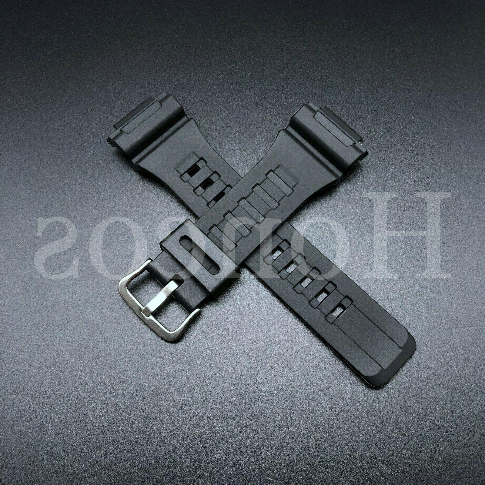 Replacement Casio Watch Strap Band for W-735H-2A AQ-S810W-2A