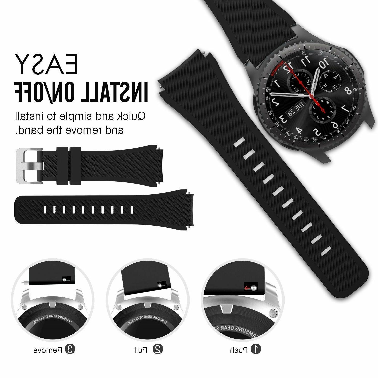 Silicone Replacement Watch For Samsung Galaxy