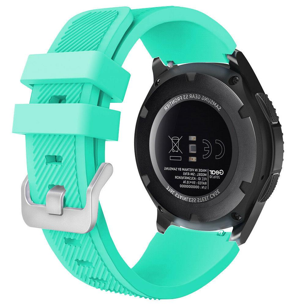 Silicone Replacement Watch Band Samsung Galaxy