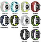 Replacement Silicone Sports Bracelet Strap For Apple Watch B