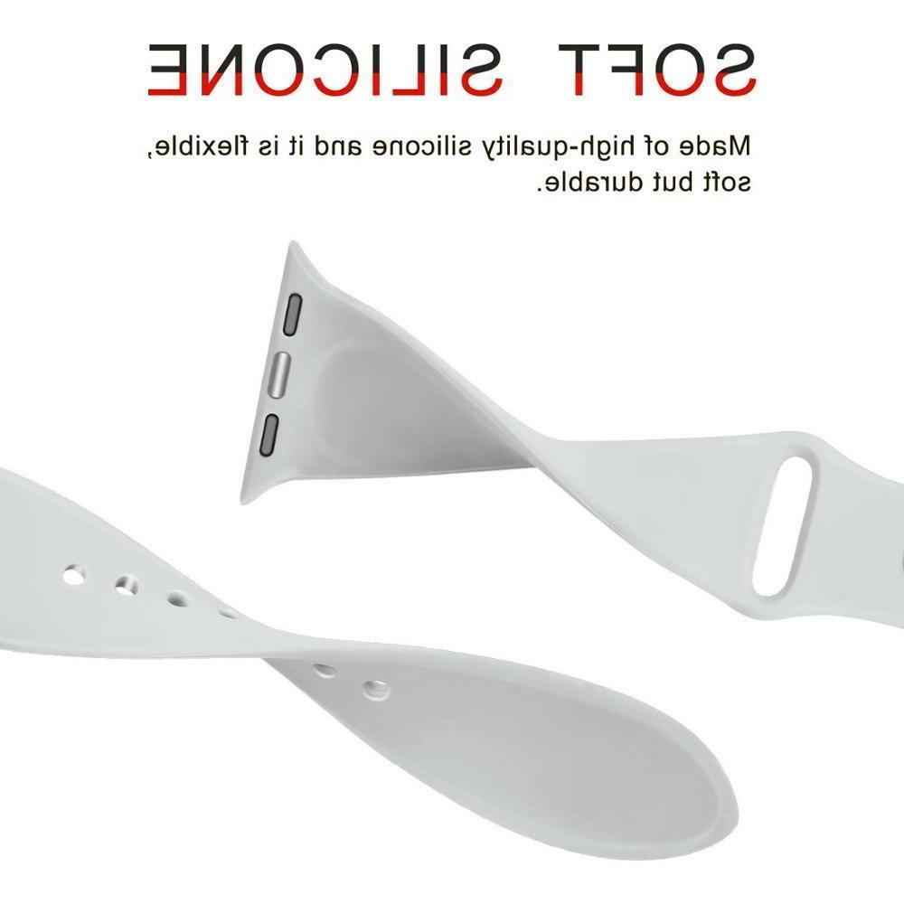 Replacement Sports Silicone Band for Apple Series 42mm