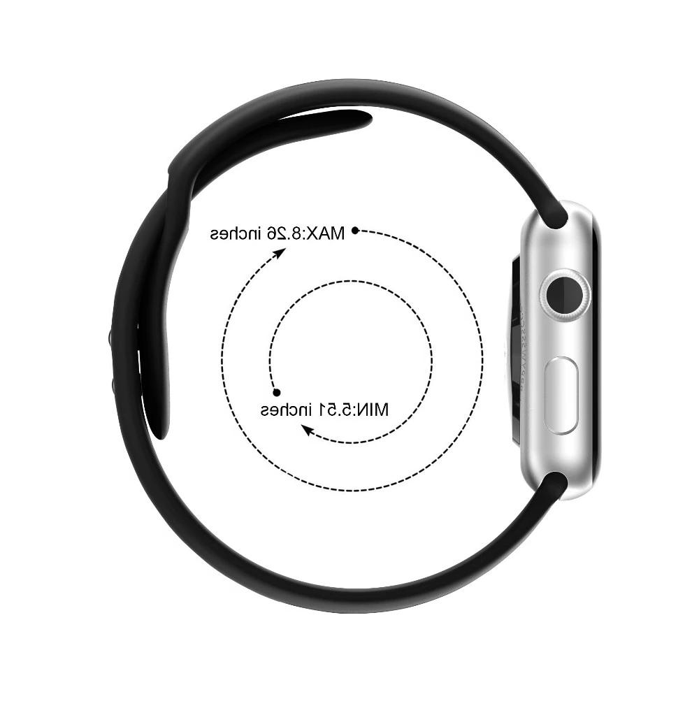 Replacement Sports Band for Apple Series 4/3/2/1 38mm