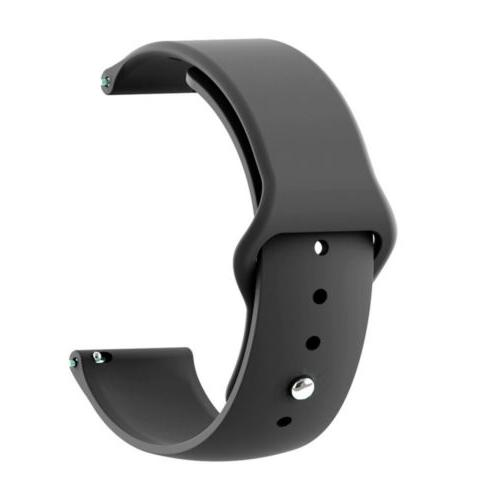 For Samsung Active 40 42 44mm Silicone Bracelet