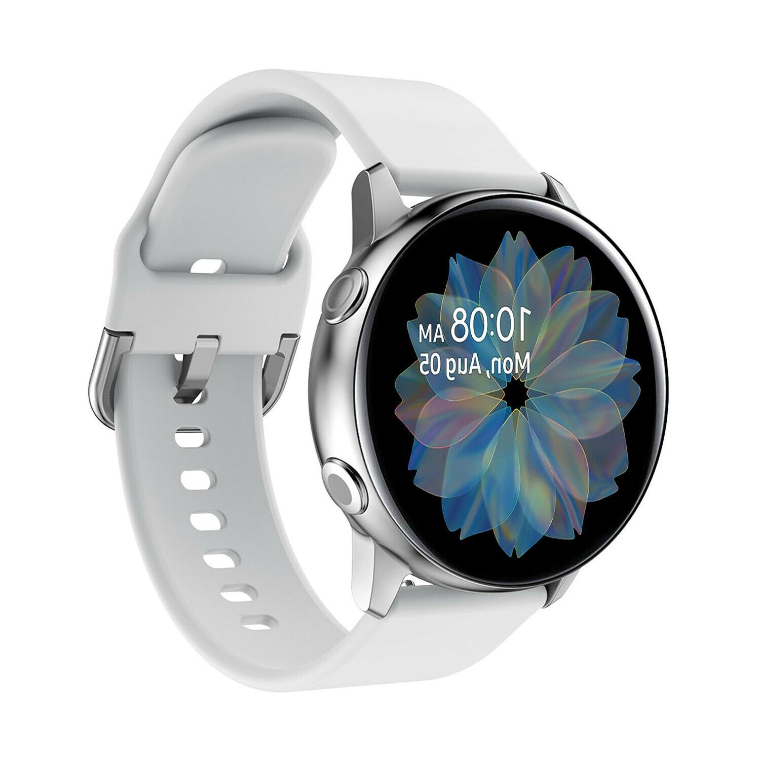 For Galaxy Active 2 44mm Sport Silicone Band Bracelet