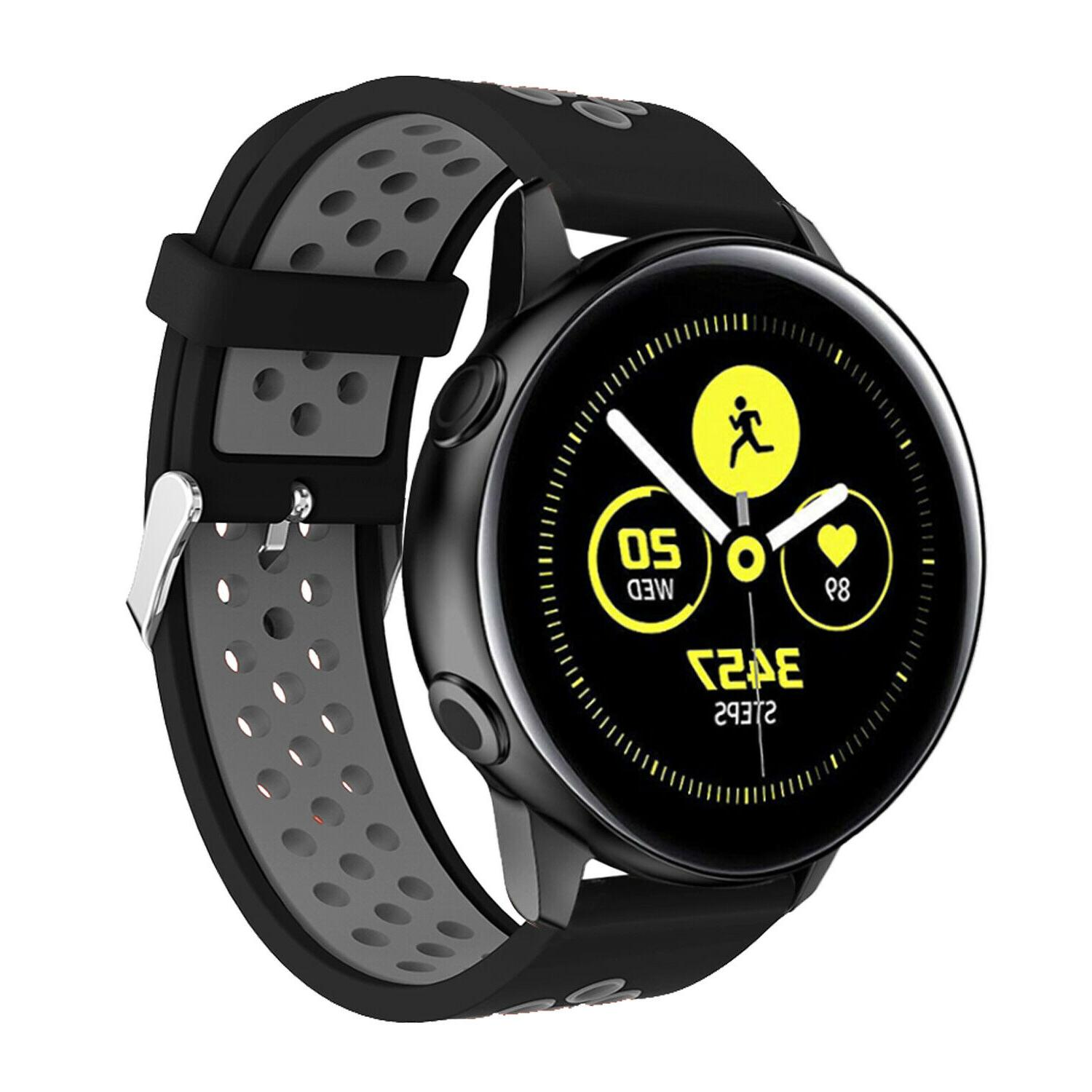 For Active 2 42 46 40mm Sport Silicone Strap