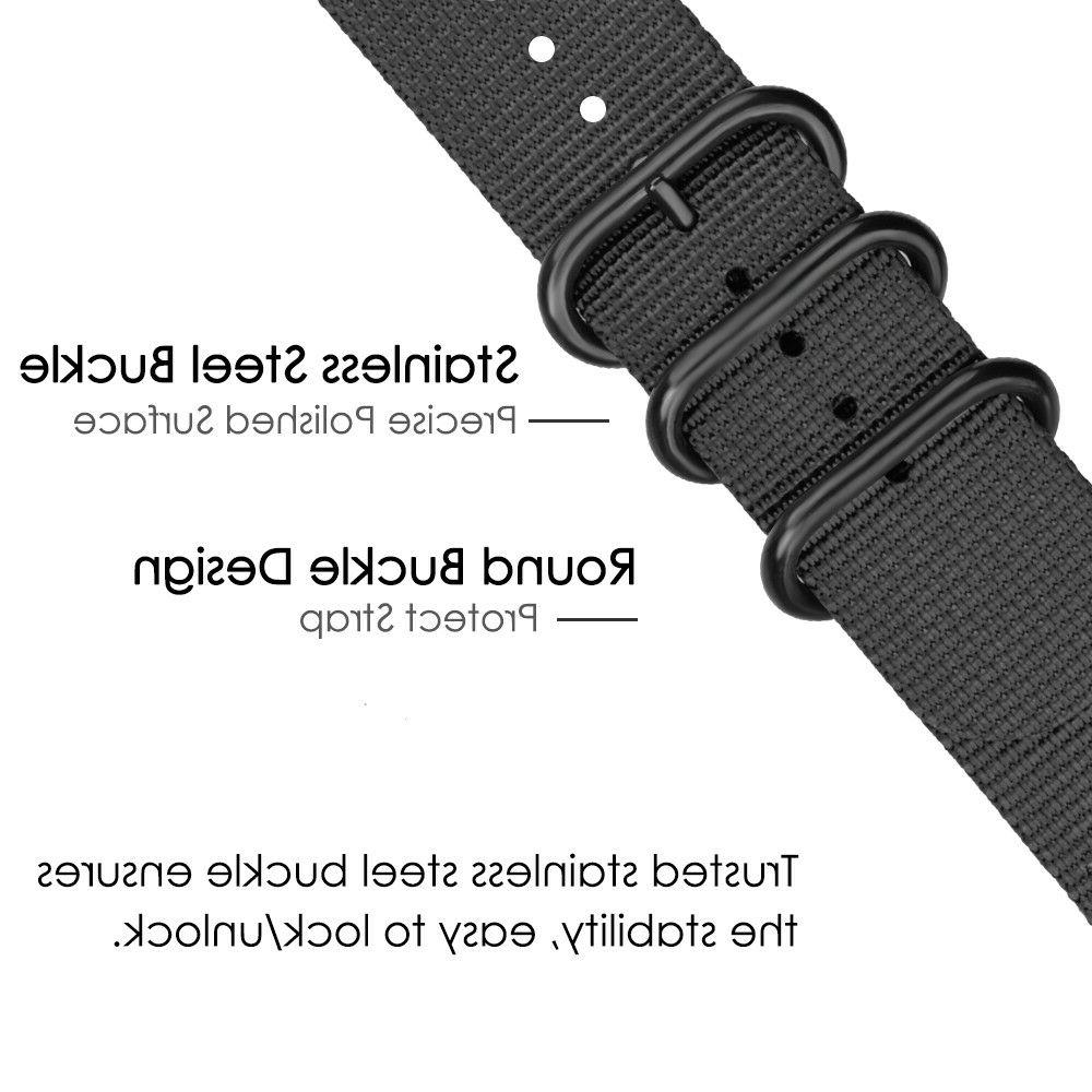 For Samsung Gear Classic 3 Nylon Band Strap