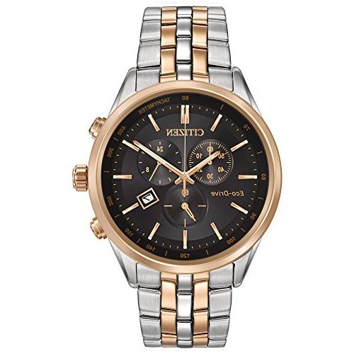 sapphire two tone dial watch